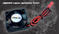 ORCA 30mm high speed fan with JST connector