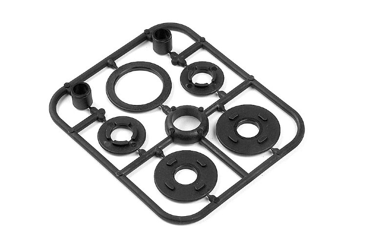 Xray Composite Belt Pulley Cover Set