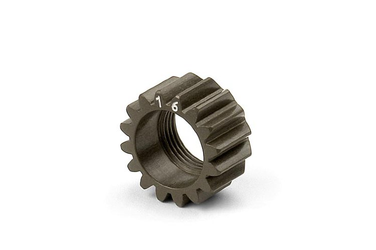 Xray XCA Alu 7075 T6 Hard Coated Pinion Gear - 16T (1st)