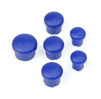 Hudy Plastic Cap For Handle (Set - 3+2+1) Blue