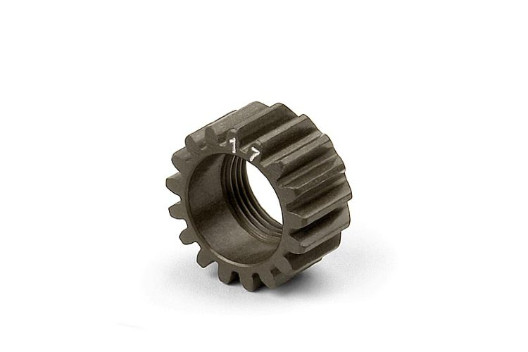 Xray XCA Alu 7075 T6 Hard Coated Pinion Gear - 17T (1st)