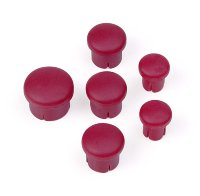 Hudy Plastic Cap For Handle (Set - 3+2+1) Purple
