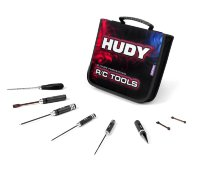 Hudy Set Of Tools + Carrying Bag - For Electric Touring Cars