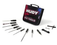 Hudy Set Of Tools + Carrying Bag - For Nitro Touring Cars