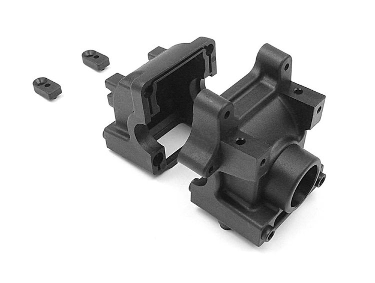 Xray Diff Bulkhead Block Set Rear