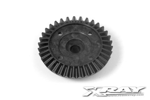 Xray Composite Diff. Bevel Gear 35T - Kevlar Graphite - V2