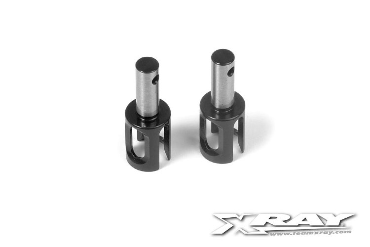 Xray Gear Diff Outdrive Adapter - Hudy Spring Steel™ - V2 (2)