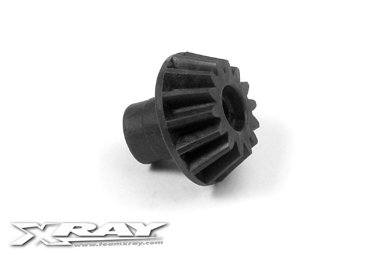 Xray Composite Bevel Drive Gear 14T - Kevlar Graphite