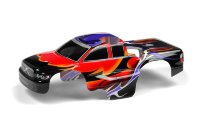 Xray Body 1/18 Nitro MT - Dragonfire - Red