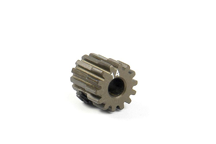 Xray Narrow Pinion Gear Alu Hard Coated 14T / 48
