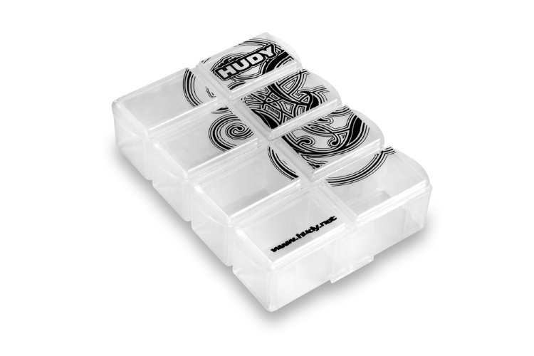 Hudy Tiny Hardware Box - 8-Compartments
