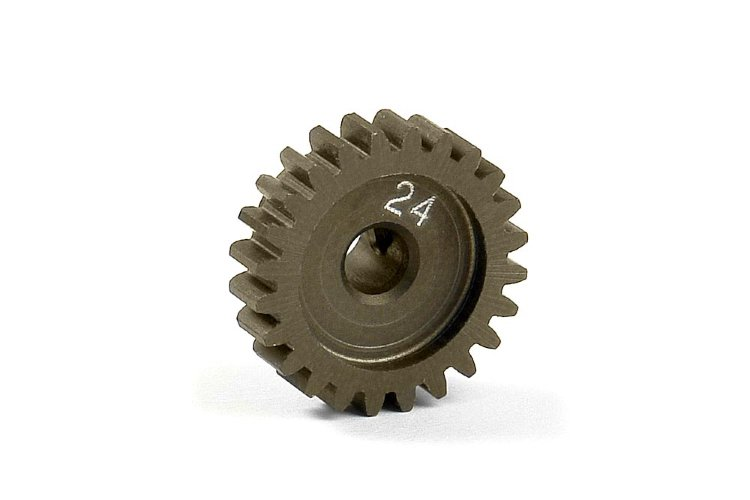 Xray Narrow Pinion Gear Alu Hard Coated 24T / 48