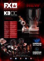 FX Engines K3 DC - 3 Ports, DLC, Ceramic Bearing