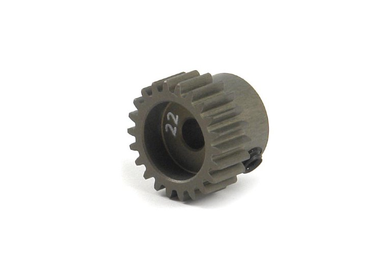 Xray Alu Pinion Gear - Hard Coated 22T / 48