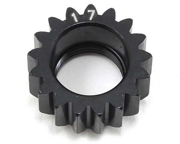 Xray XCA Alu Pinion Gear 17T (1St) - 7075 T6 - Hard Coated
