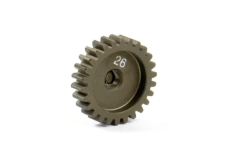 Xray Narrow Pinion Gear Alu Hard Coated 26T / 48