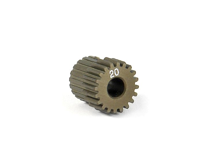 Xary Narrow Pinion Gear Alu Hard Coated 20T / 64