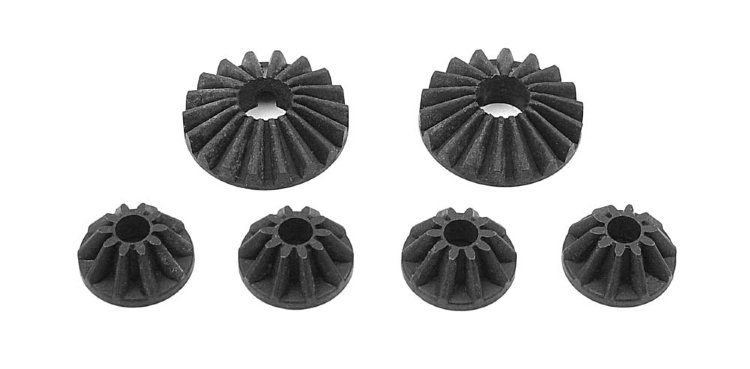 Xray Steel Diff Bevel & Satellite Gears (2+4)