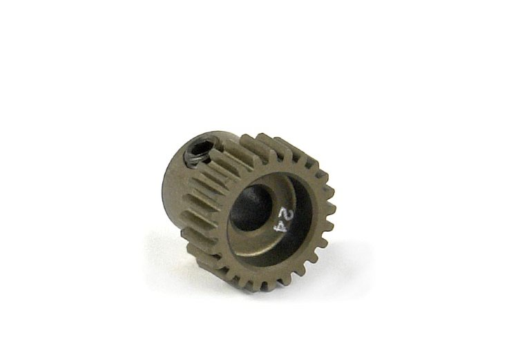 Xray Narrow Pinion Gear Alu Hard Coated 24T / 64