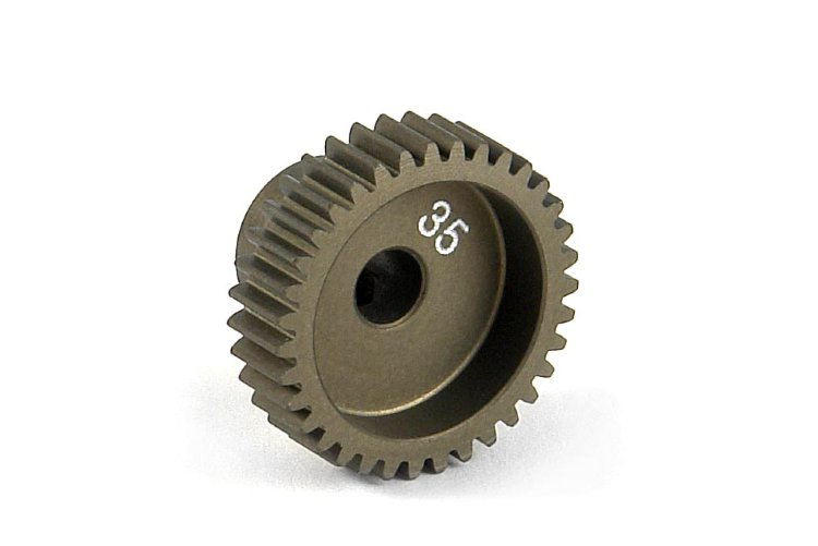 Xray Narrow Pinion Gear Alu Hard Coated 35T / 64