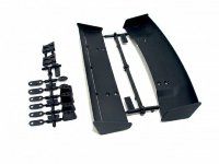 HPI MOLDED WING SET (2 TYPES/1/10 SCALE/BLACK)