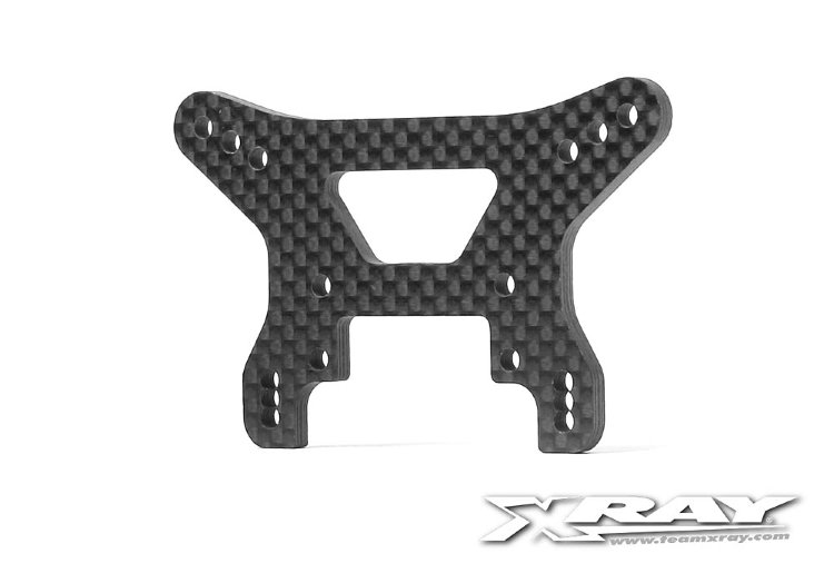 Xray Graphite Shock Tower Front 3.0mm - V3