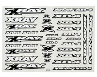 Xray XB4 Sticker For Body - White