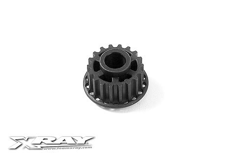 Xray Composite Front Belt Pulley 18T O6 - Center