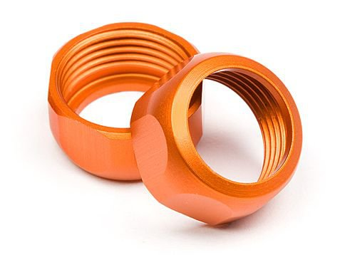 SHOCK CAP 10mm (ORANGE/2pcs)